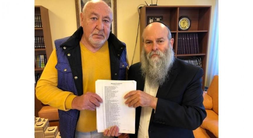 Архив материалов Савелия Басса о судьбах евреев Днепра передан в еврейскую общину