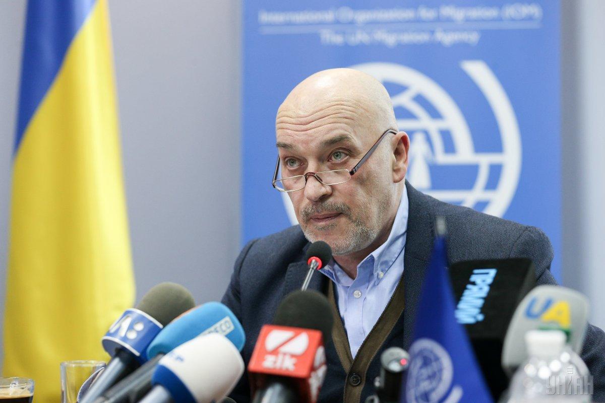 """Тука розкритикував ідею щодо """"стіни"""" на Донбасі / фото УНІАН"""
