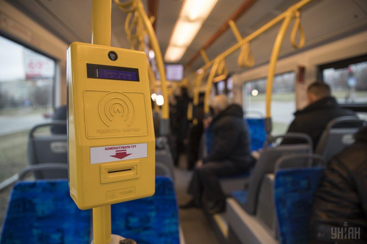 У Києві ввели електронний квиток на транспорт / фото УНІАН