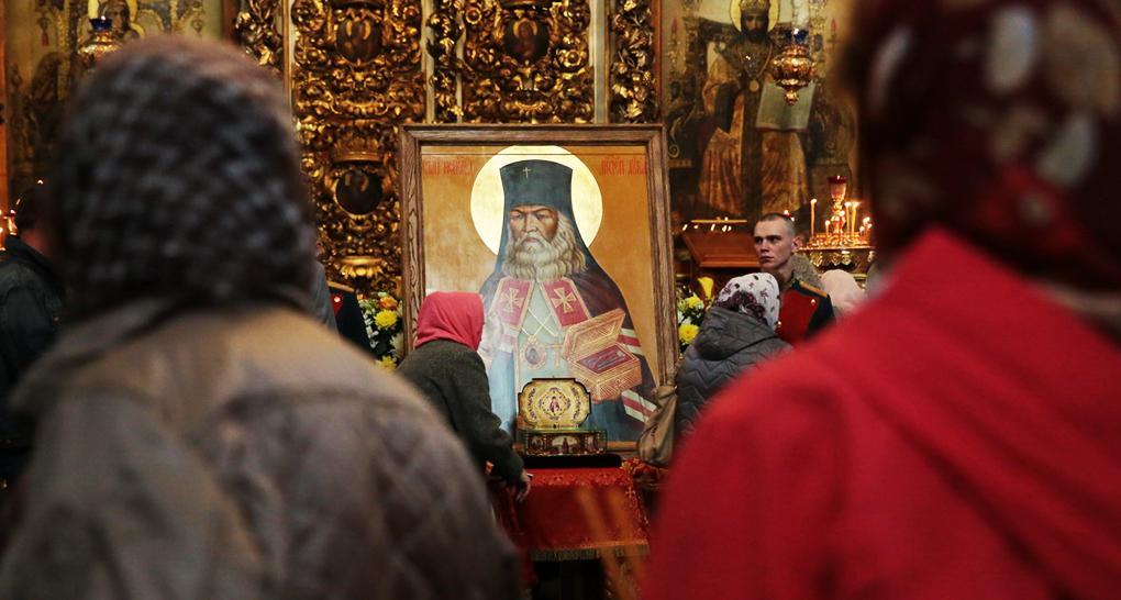 Ім'ям святителя Луки Кримського можуть назвати аеропорт Сімферополя / foma.ru