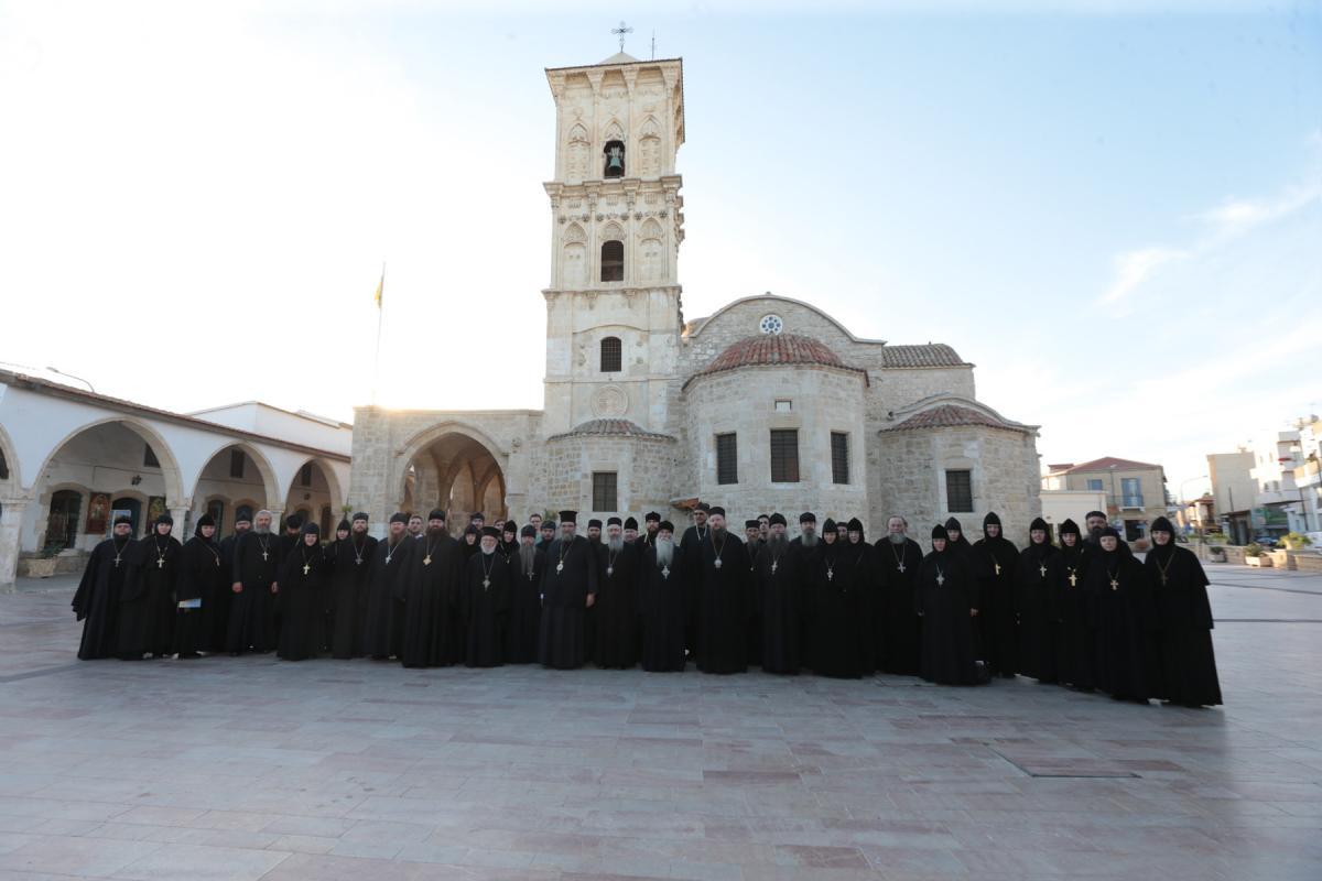 На Кипре наместник Святогорской лавры возглавил международный монашеский форум / svlavra.church.ua