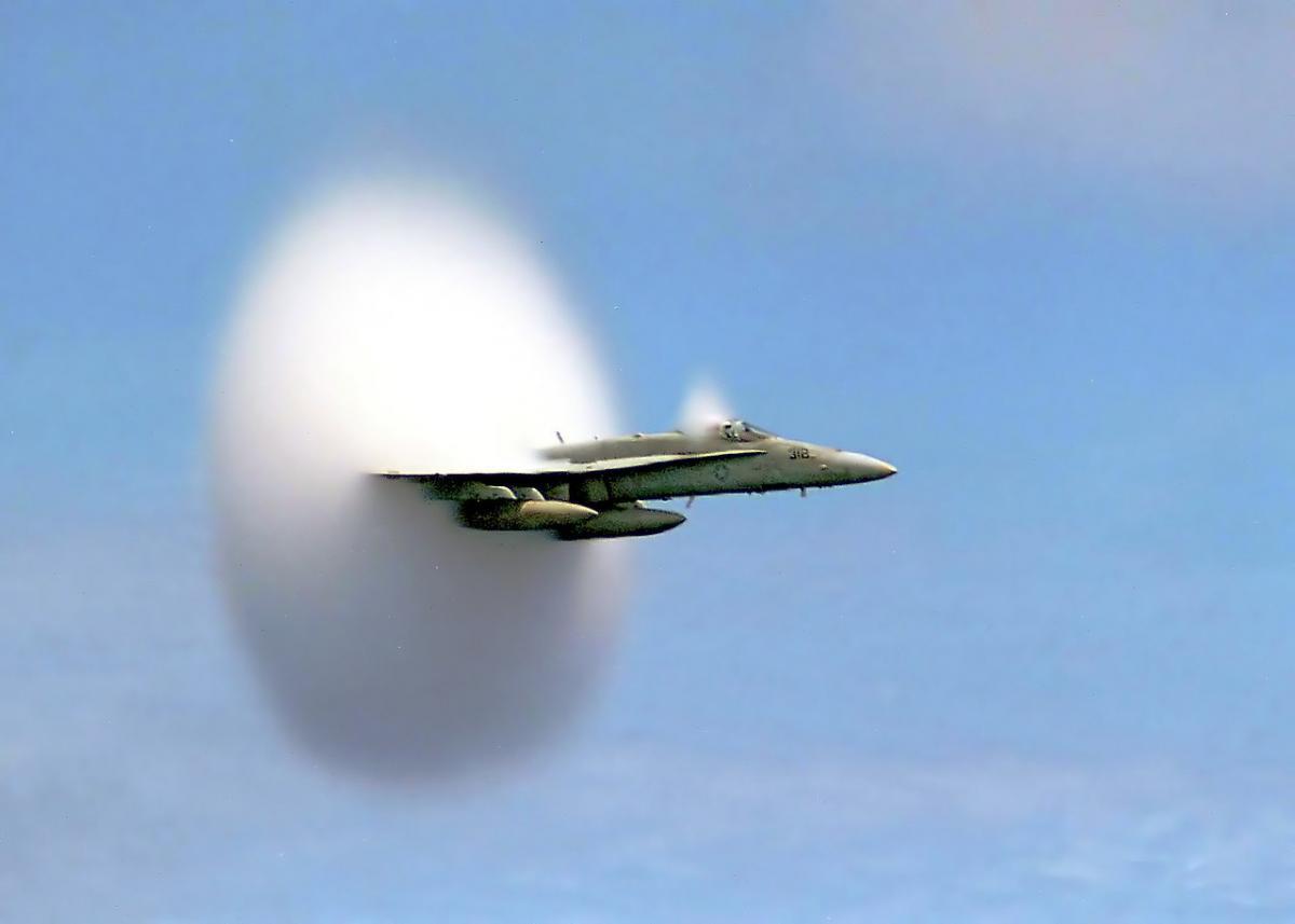 Испытания технологии, которая позволит избежать звука взрыва на сверхзвуковой скорости, начинаются / wikipedia.org