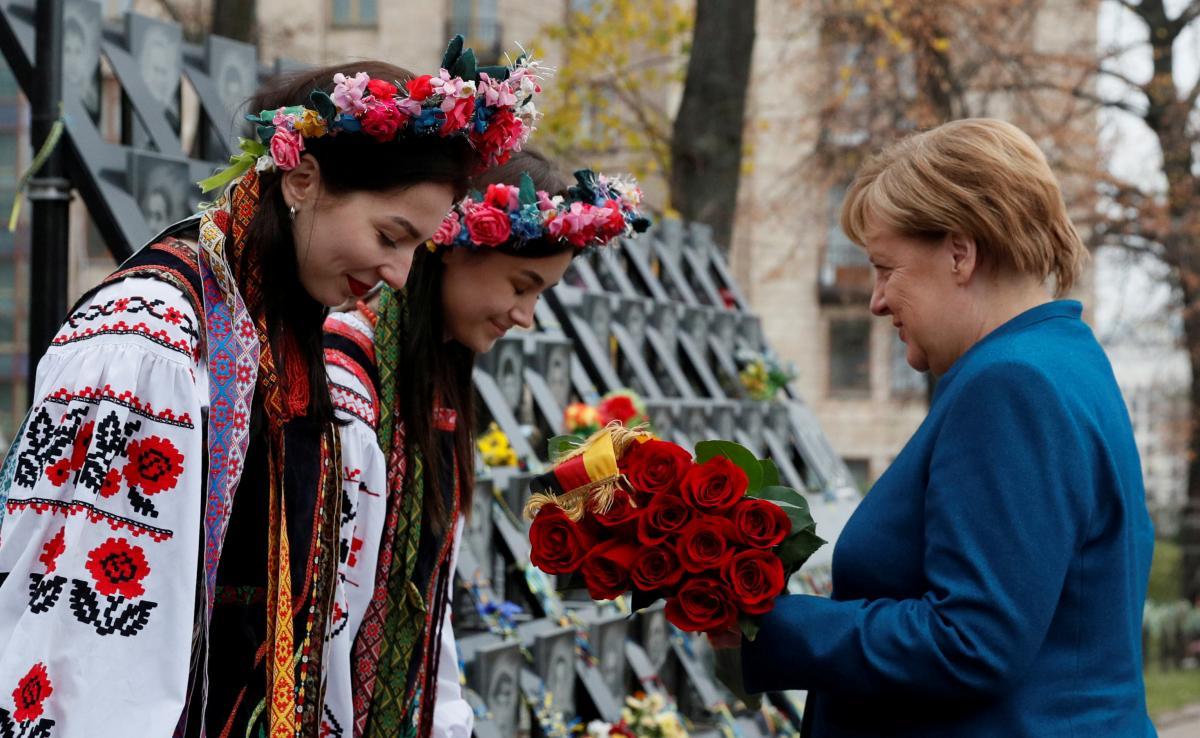 Анега Меркель / фото REUTERS