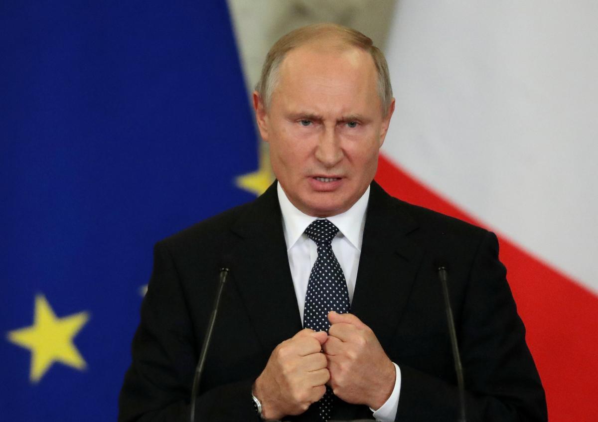 Путин отрицает, что на Донбассе есть российские силы / REUTERS