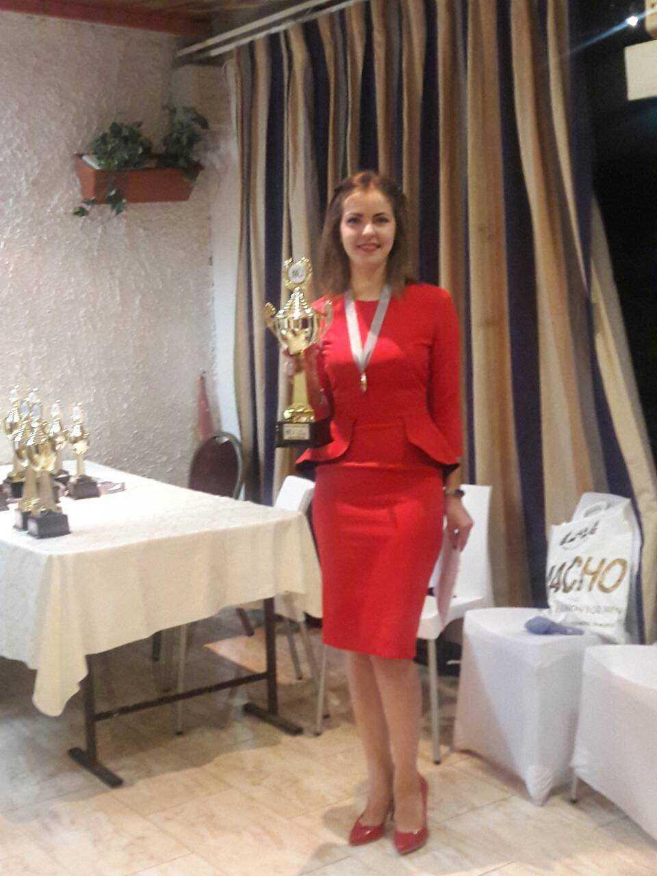 Виктория Мотричко возглавила рейтинг лучших шашисток мира / Федерация шашек Украины