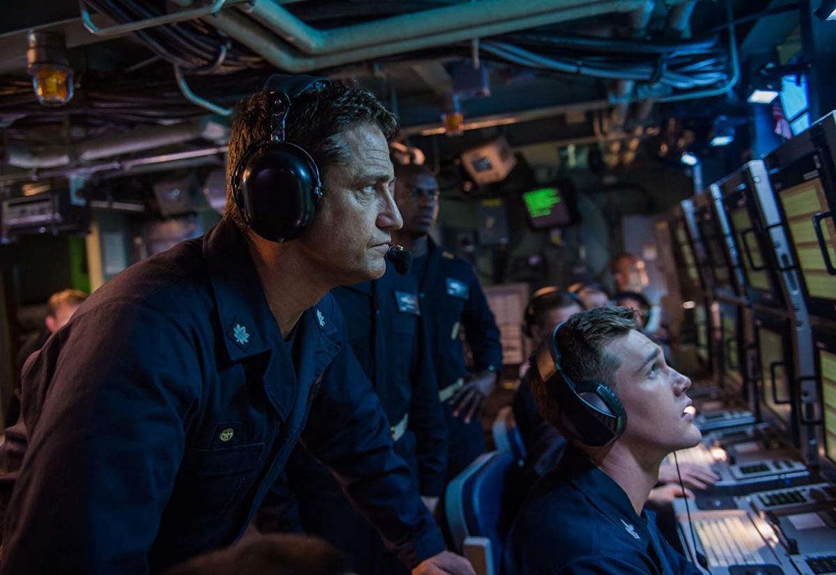 ДжерардБатлер играл капитана американской субмарины / фото imdb.com