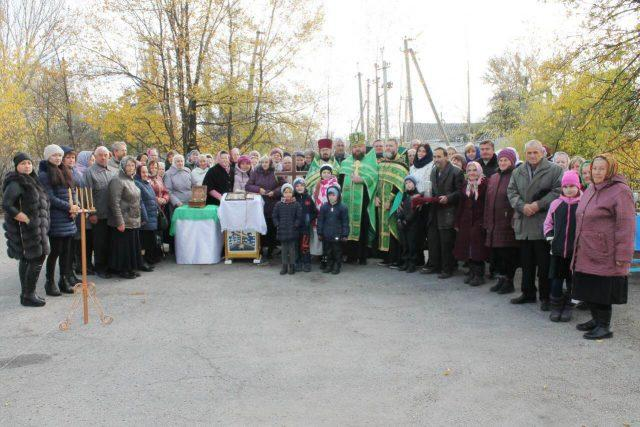 В Перещепино положено начало строительства нового храма / eparhia.dp.ua
