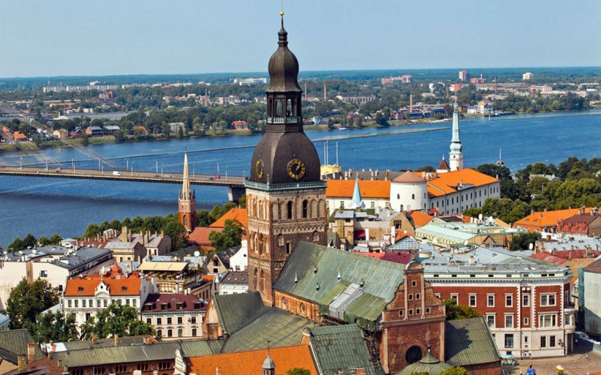 Латвія, ілюстрація / estaline.by