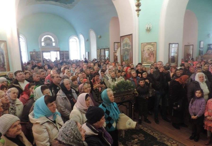 Богослужение в день памяти преподобного Феофана Рыхловского / orthodox.cn.ua