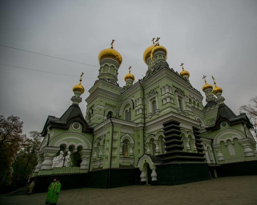 У Покровському монастирі вшанували пам'ять преподобної Анастасії Київської / facebook.com/MitropolitAntoniy