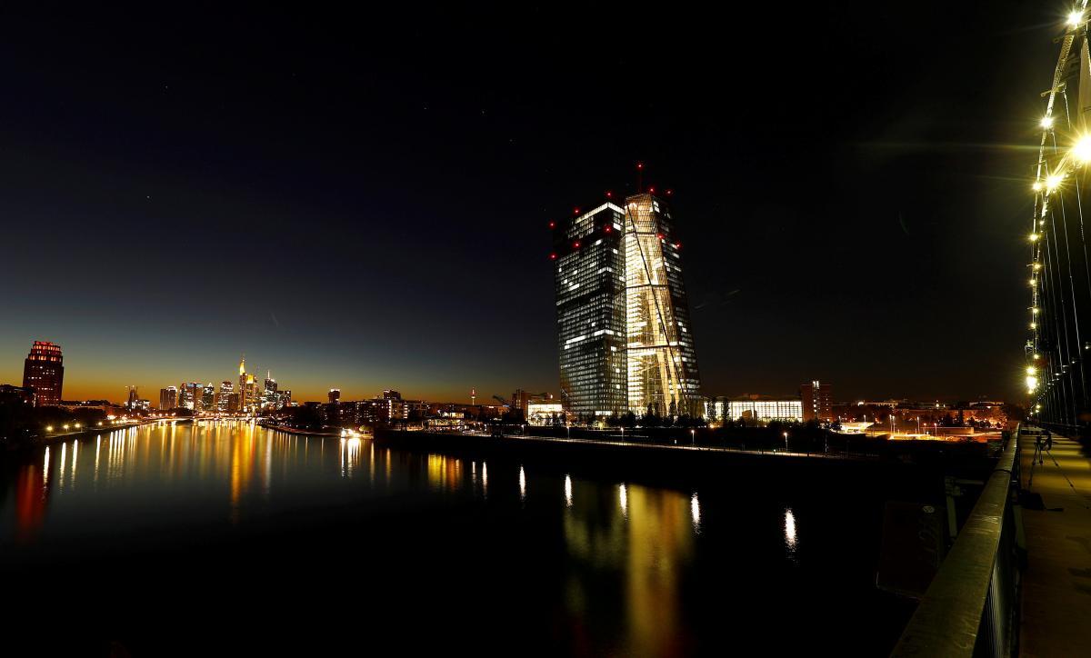 Здание Европейского центробанка во Франкфурте / REUTERS