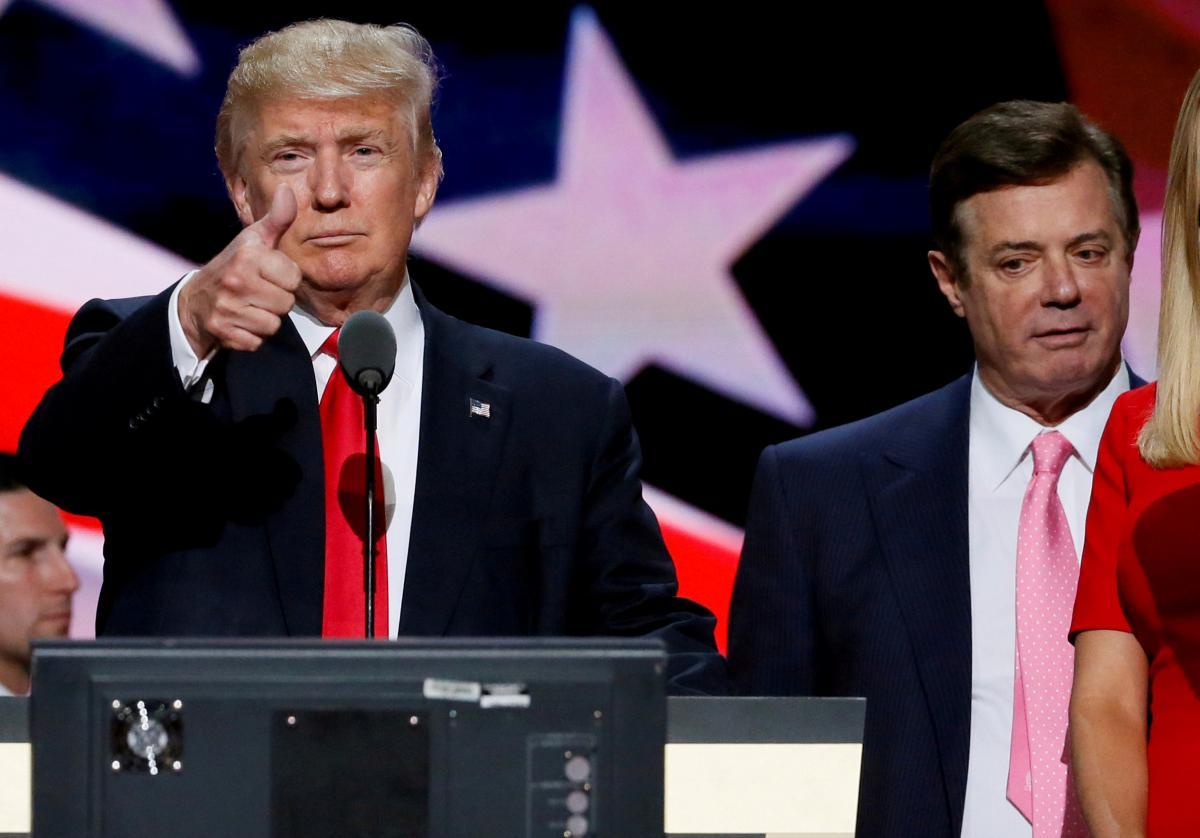 Дональд Трамп и Пол Манафорт / REUTERS