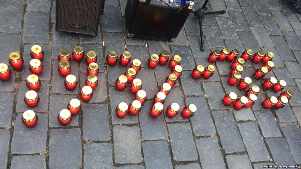 Зеленський зазначив, що втрати України від Голодомору порівнянііз втратами у Другій світовій війні / фото radiosvoboda.org