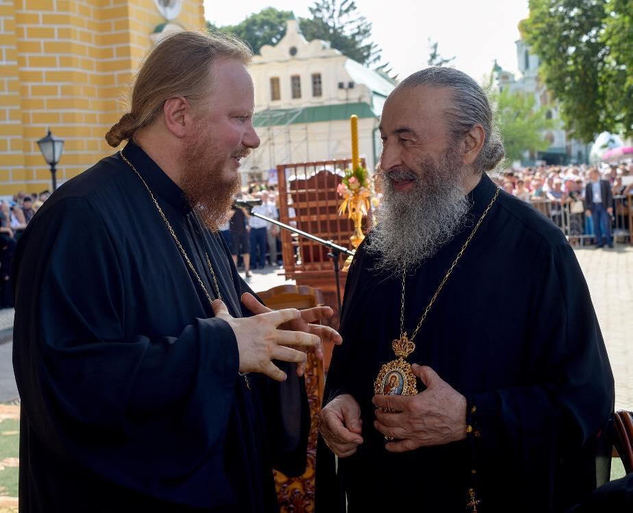 Митрополит Онуфрий и архиепископ Иона / facebook.com