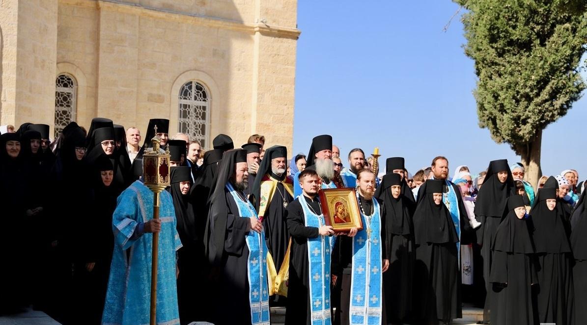 В Горненском монастыре Иерусалима отметили 120-летие обители / rusdm.ru