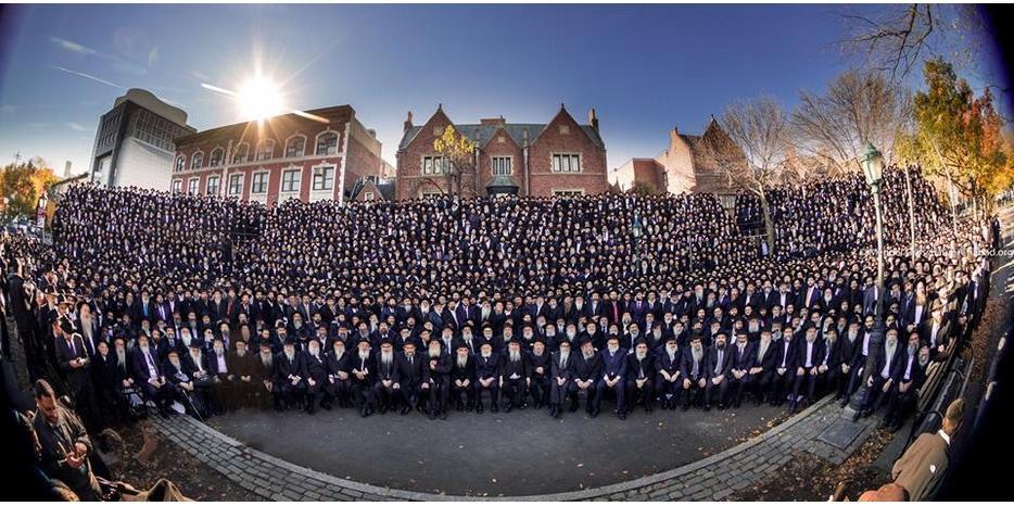 Цю фотографію називають «Головною фотографією року для єврейського відродження» / djc.com.ua