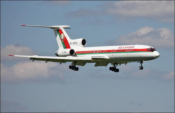 Прежний самолёт Лукашенко выставили нааукцион за $2 млн