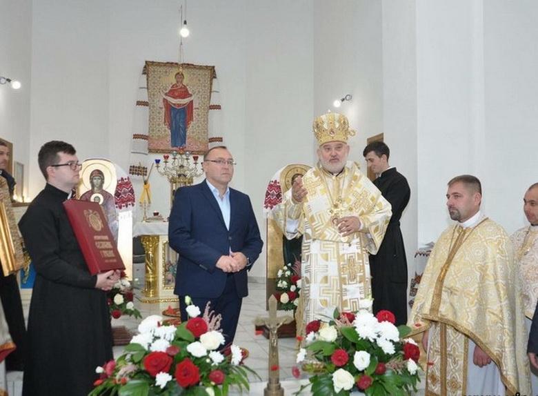 В Винницкой области освятили новый храм УГКЦ / vinnitsa.info