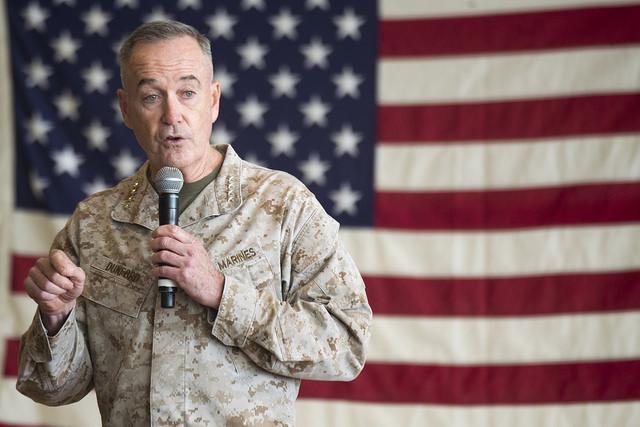 Данфорд сомневается, что России хватит денег и людей, чтобы кому-то долго угрожать / Flickr/Chairman of the Joint Chiefs of Staff
