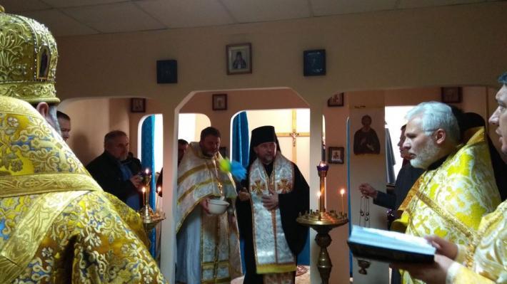 В Харьковском военном госпитале освятили межконфессиональную часовню / news.ugcc.ua