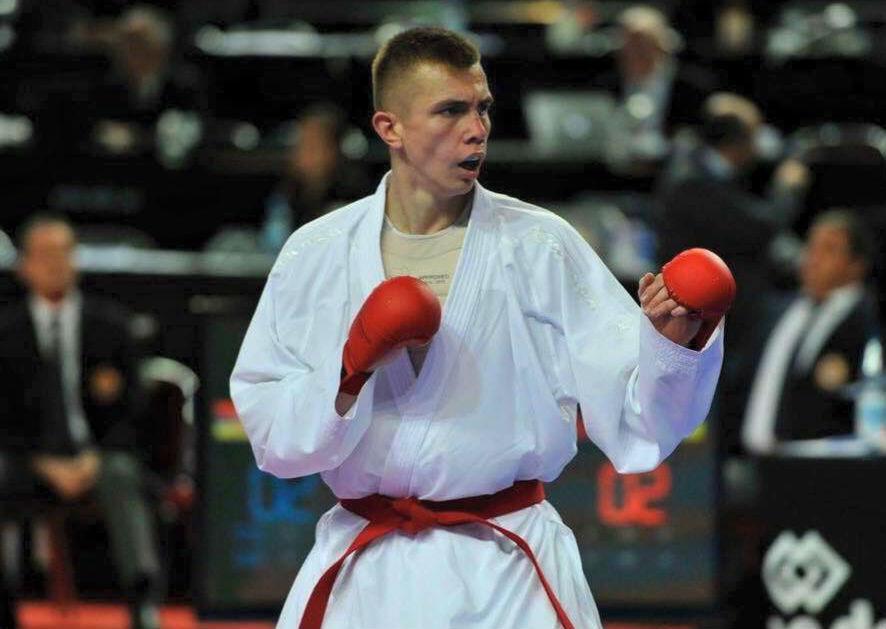 Чеботарьстал первым украинским каратистом, который вышел в финал Чемпионата мира / wkf.com.ua