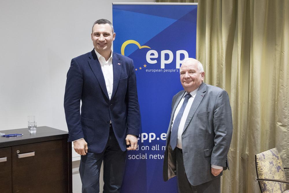 У Гельсінкі відбулися зустрічі Кличка з європейськими політиками