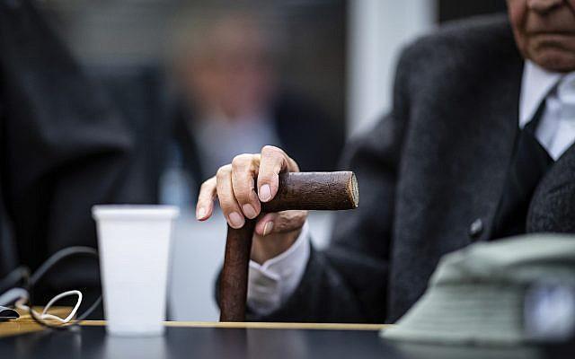 Йоганн Ребоген був доставлений до суду в інвалідному кріслі / timesofisrael.com