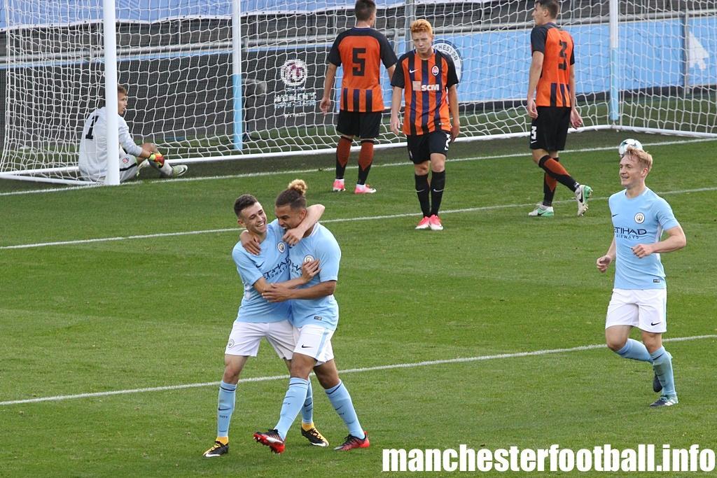 """Манчестер Сити"" (U-19) - ""Шахтер"" (U-19) - 4:1 / manchesterfootball.info"