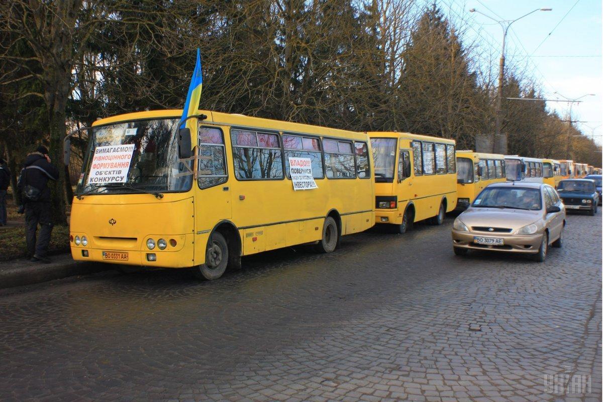 Начальника Тернопільського управління транспорту закликали до кінця дня подати у відставку / фото УНІАН