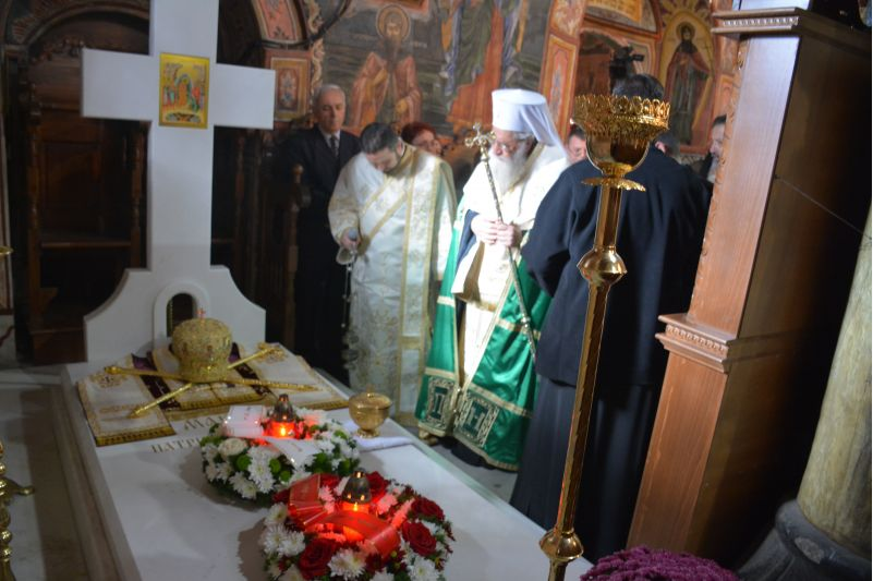 Православні молилися за упокій Патріарха Максима / podvorie-sofia.bg
