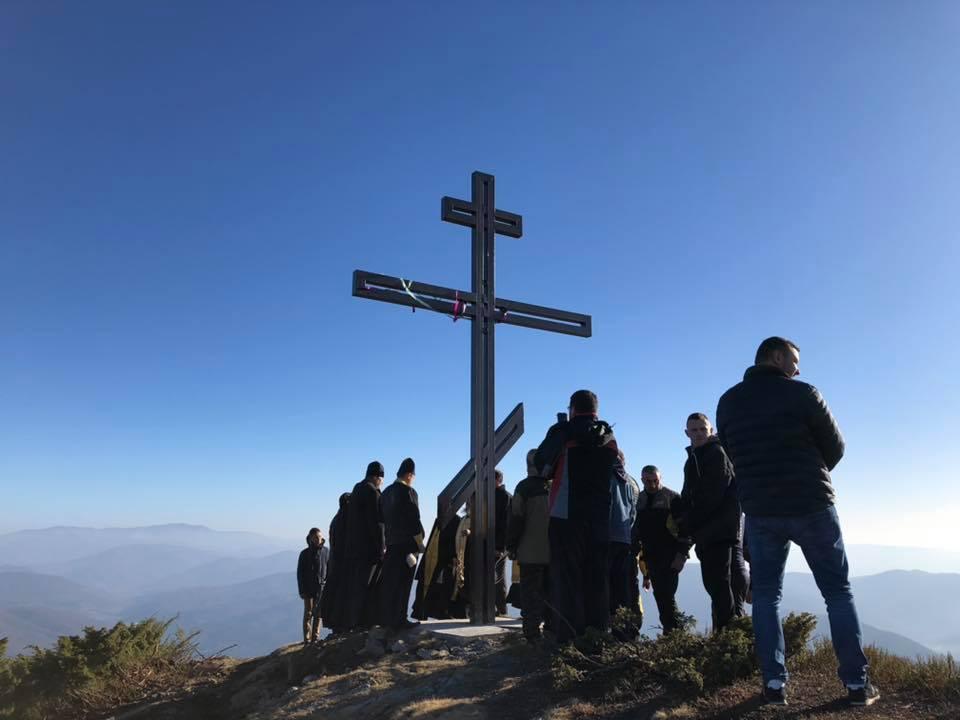 В Карпатах освятили поклонный крест / m-church.org.ua