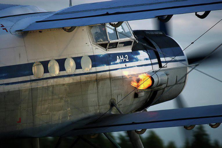 В Российской Федерации  случилось  ЧПссамолетом Ан-2