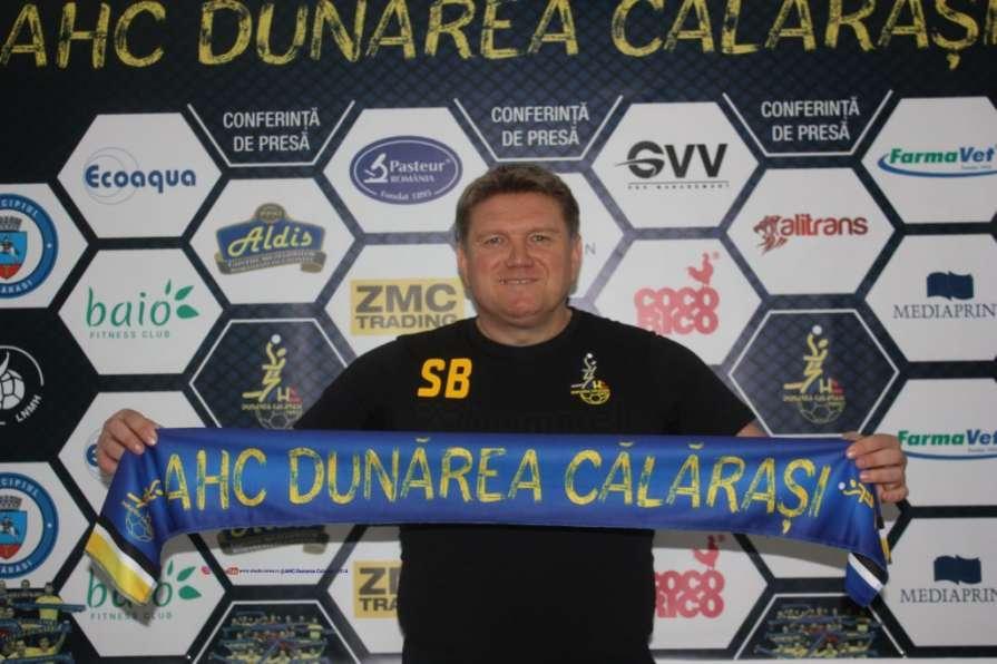 Бебешко одержал победу в первом матче во главе румынской команды / handball.motorsich.com