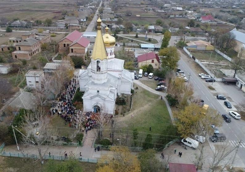 Православные Килии отметили 110-летие Свято-Димитриевского храма / eparhiya.od.ua