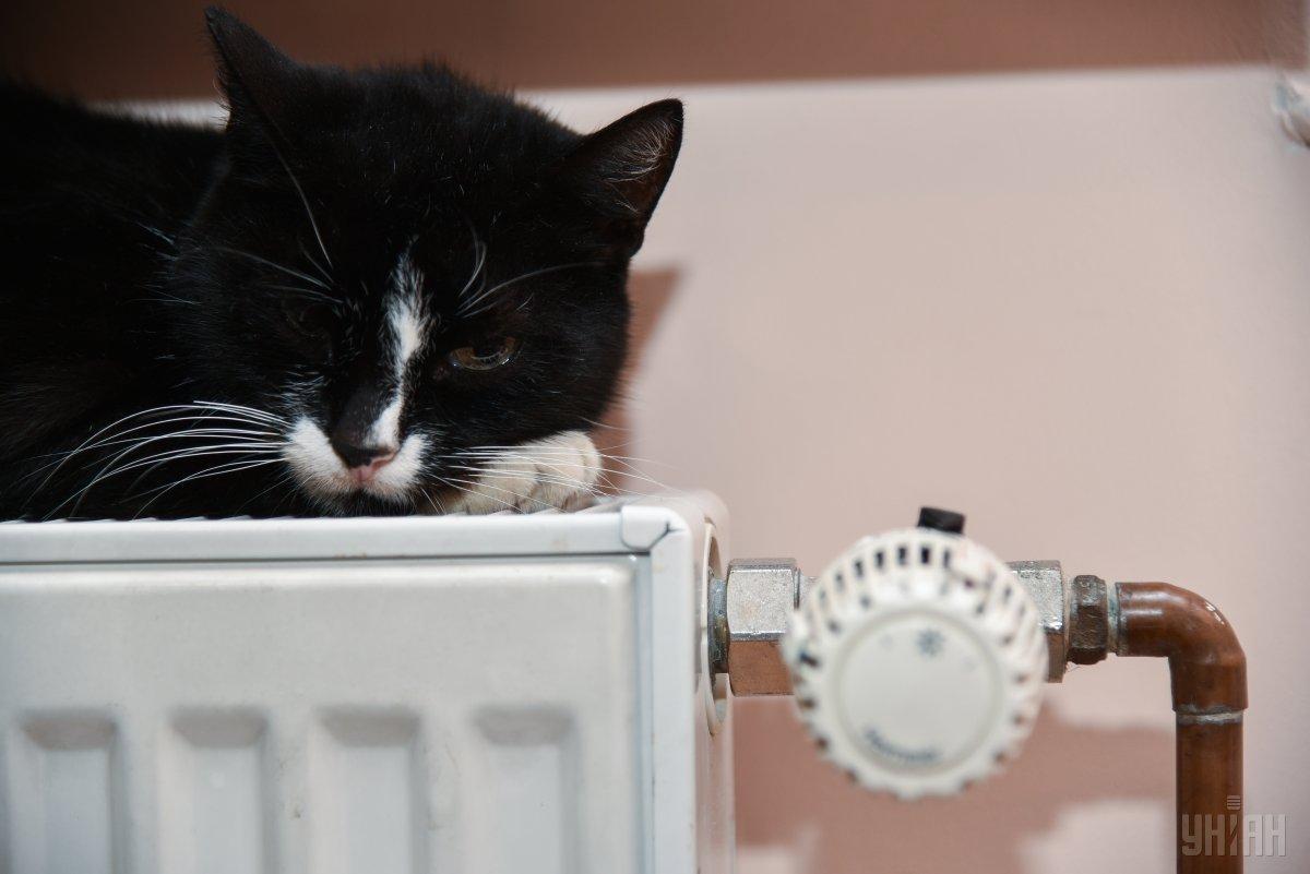 Отопление должны включить в середине месяца / фото УНИАН