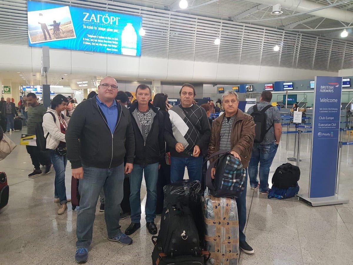Три українськіморякиіз судна Mekong Spirit повернулися в Україну / фото twitter.com/PavloKlimkin