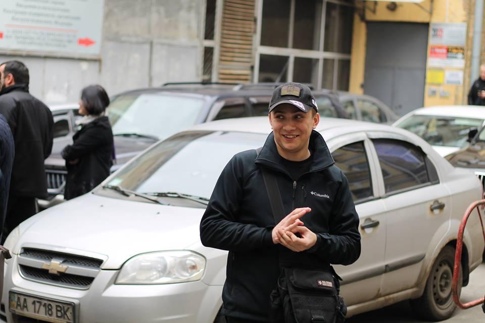 Стерненко пришел в СБУ / Фото facebook.com/sternenko