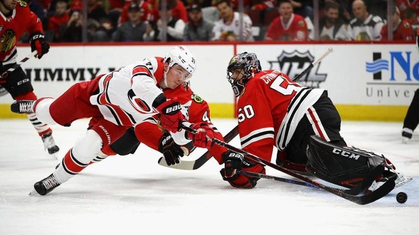Ванкувер забросил восемь шайб в ворота соперника в очередном матче регулярного чемпионата НХЛ / Reuters