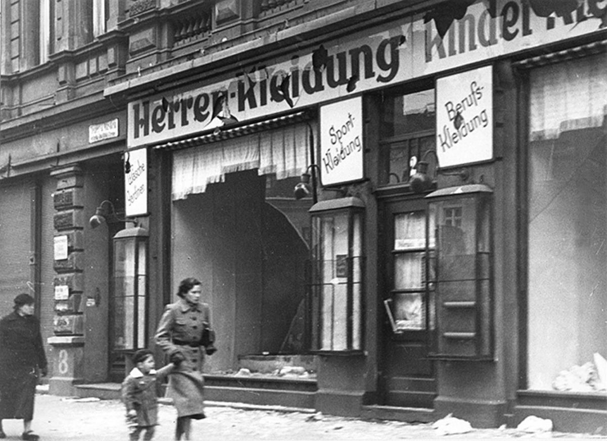 «Кришталева ніч» у Берліні / kemokiev.org