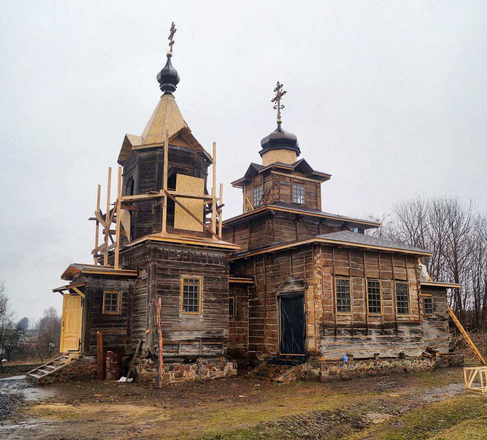 Покровская церковь / Фото Оратовской РГА