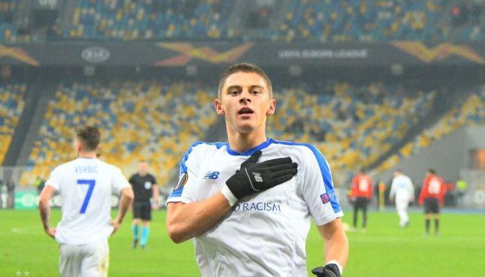 Миколенко забил первый гол за Динамо, и сразу в еврокубках / facebook.com/fcdynamoua