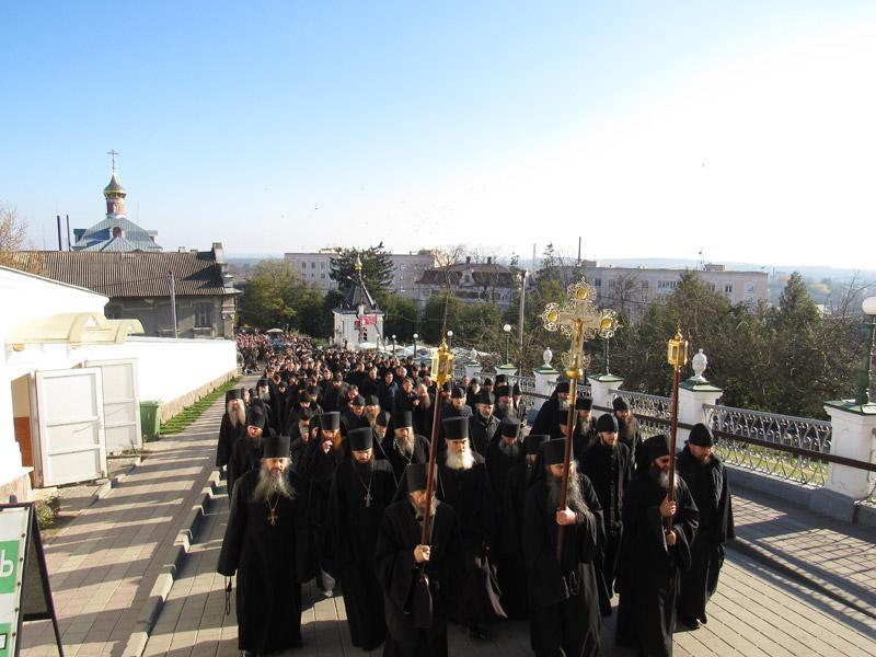 В Почаевской лавре начались торжества / news.church.ua