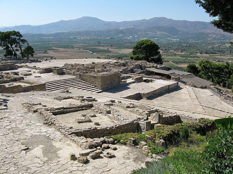 Руины Фестского дворца / Фото wikipedia.org