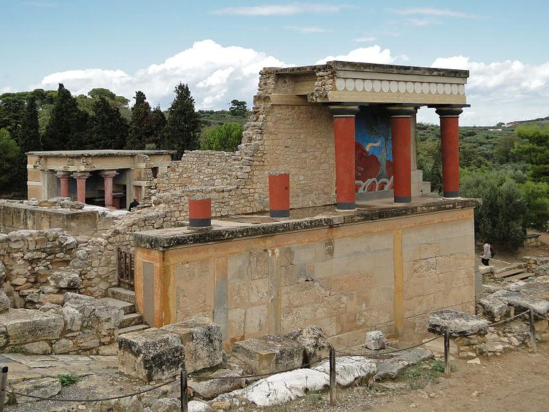 Руины Кносского дворца / Фото wikipedia.org
