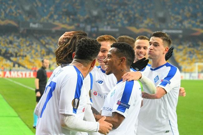 Динамо досрочно вышло в плей-офф Лиги Европы / fcdynamo.kiev.ua