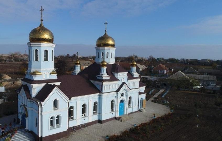 В Одесской области освятили восстановленный православный храм / eparhiya.od.ua