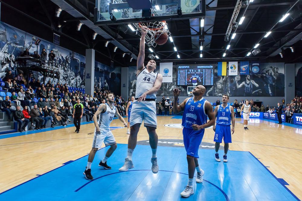 Дніпро взяв реванш у Миколаєва в матчі баскетбольної Суперліги / fbu.ua