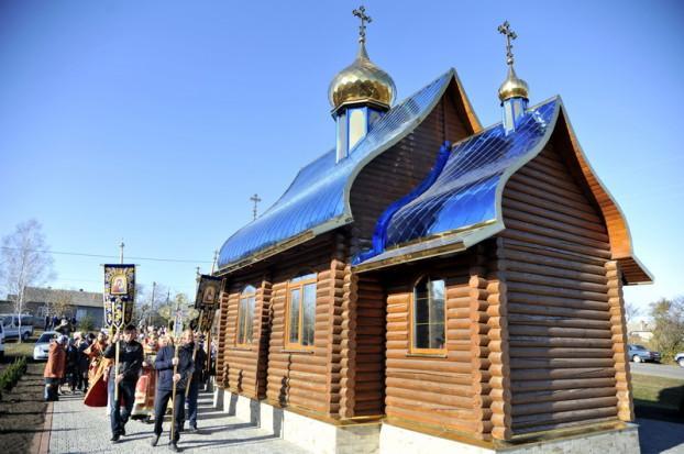 В Одесской области освятили новый православный храм / baltaeparhia.org.ua