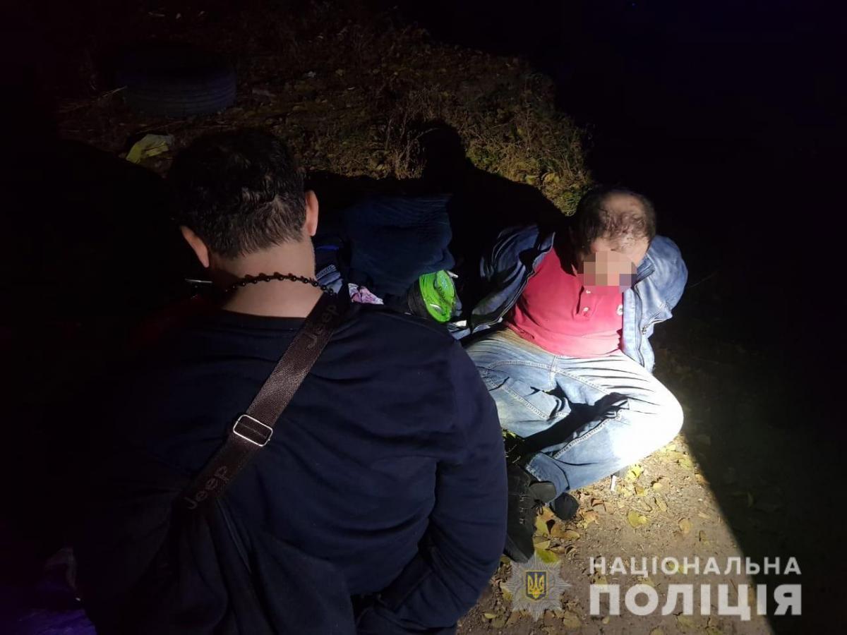 В Днепре задержали двух иностранцев / фото Нацполиция