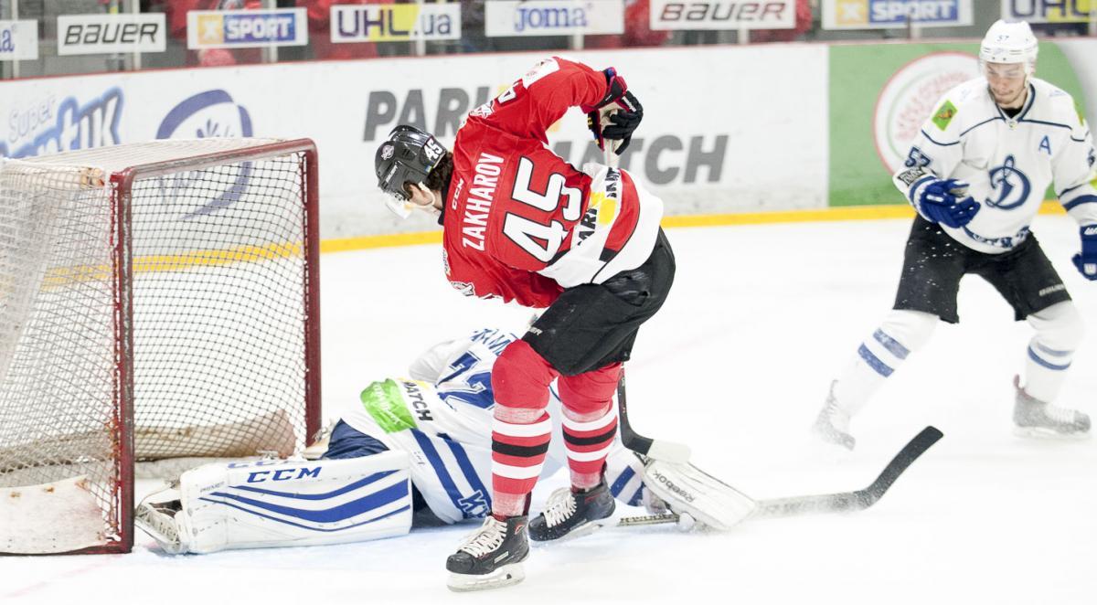 Донбасс обыграл Динамо в напряженном матче УХЛ / uhl.ua